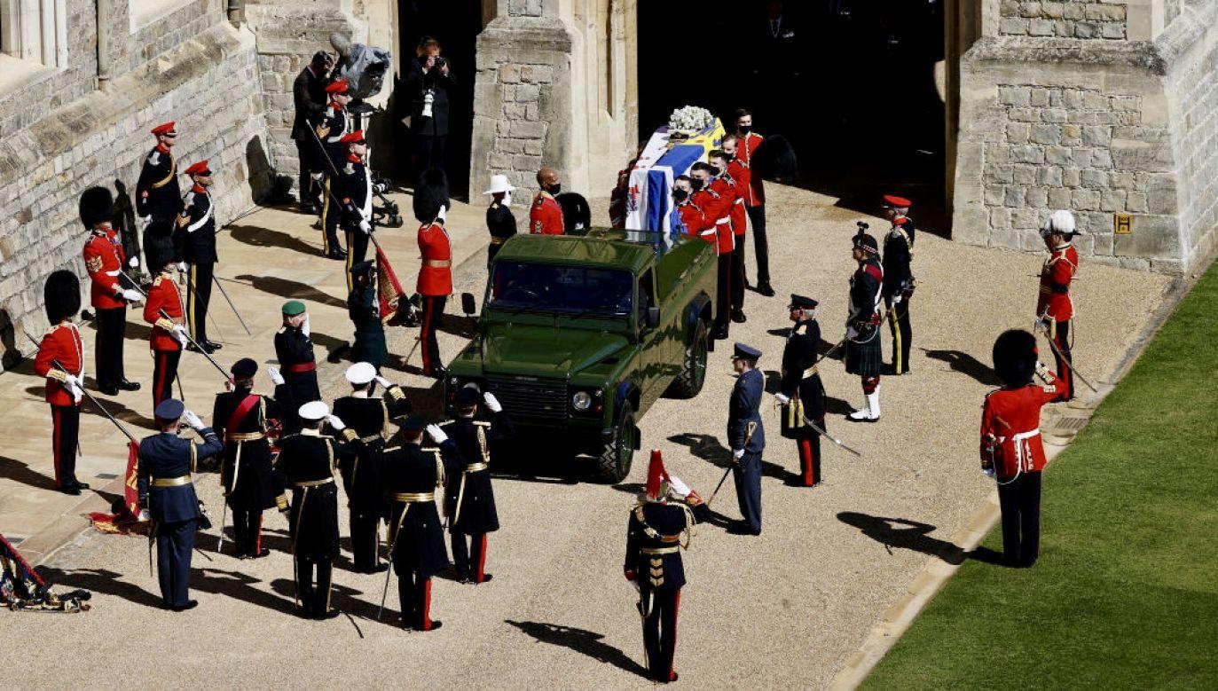 KsiążęFilip zostanie pochowany na zamku w Windsorze (fot. WPA Pool/Getty Images)