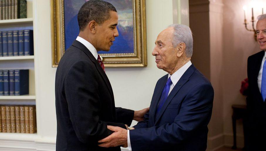 Spotkanie z Barackiem Obamą w 2009 roku (fot. wikipedia.org)