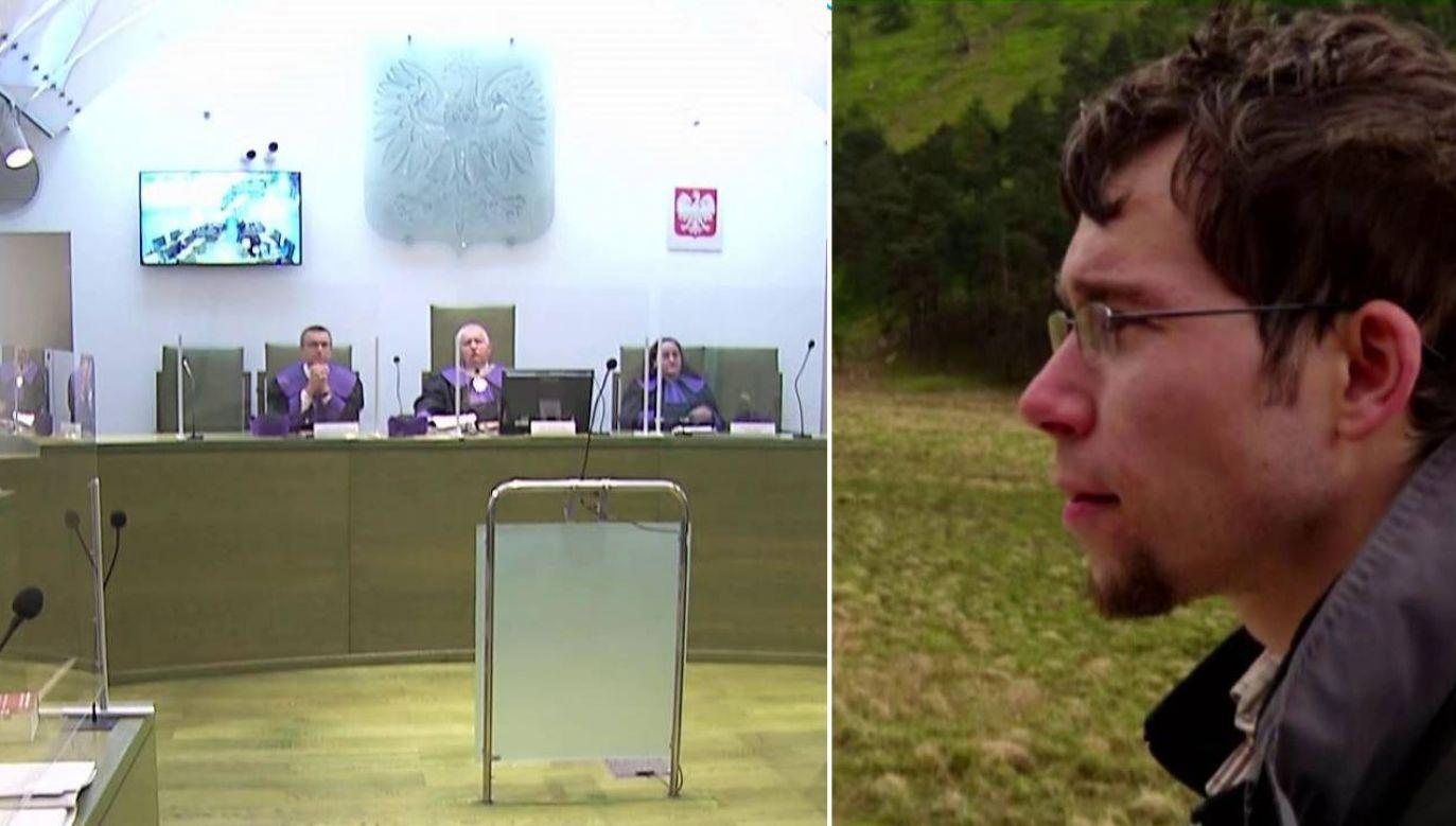 Bartłomiej Rondo liczył na kasację wyroku (fot. TVP1)