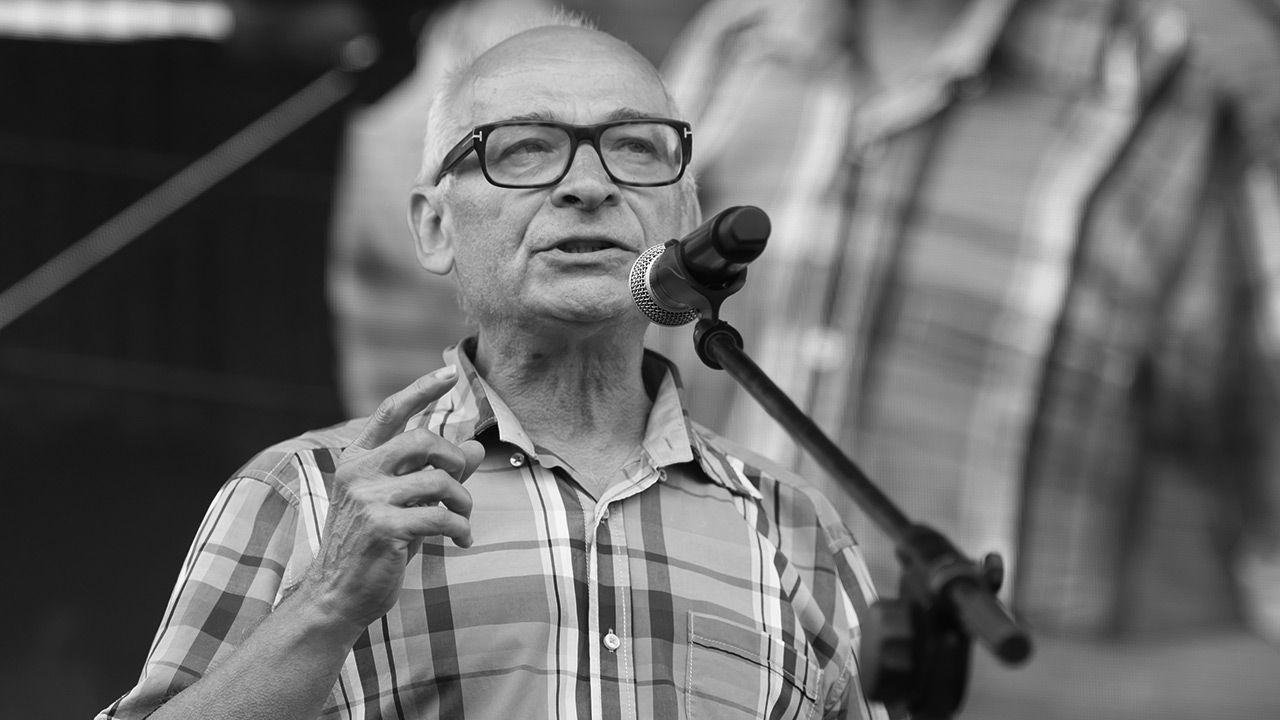 Jan Lityński nie żyje (fot. PAP/Jakub Kaczmarczyk)