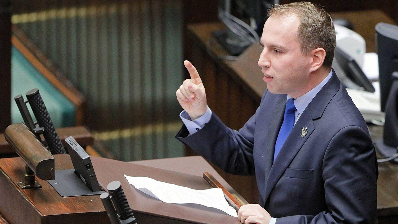Wiceminister podkreśla, że oskarżyła go osoba podejrzana w tej sprawie (fot. arch.PAP/Paweł Supernak)