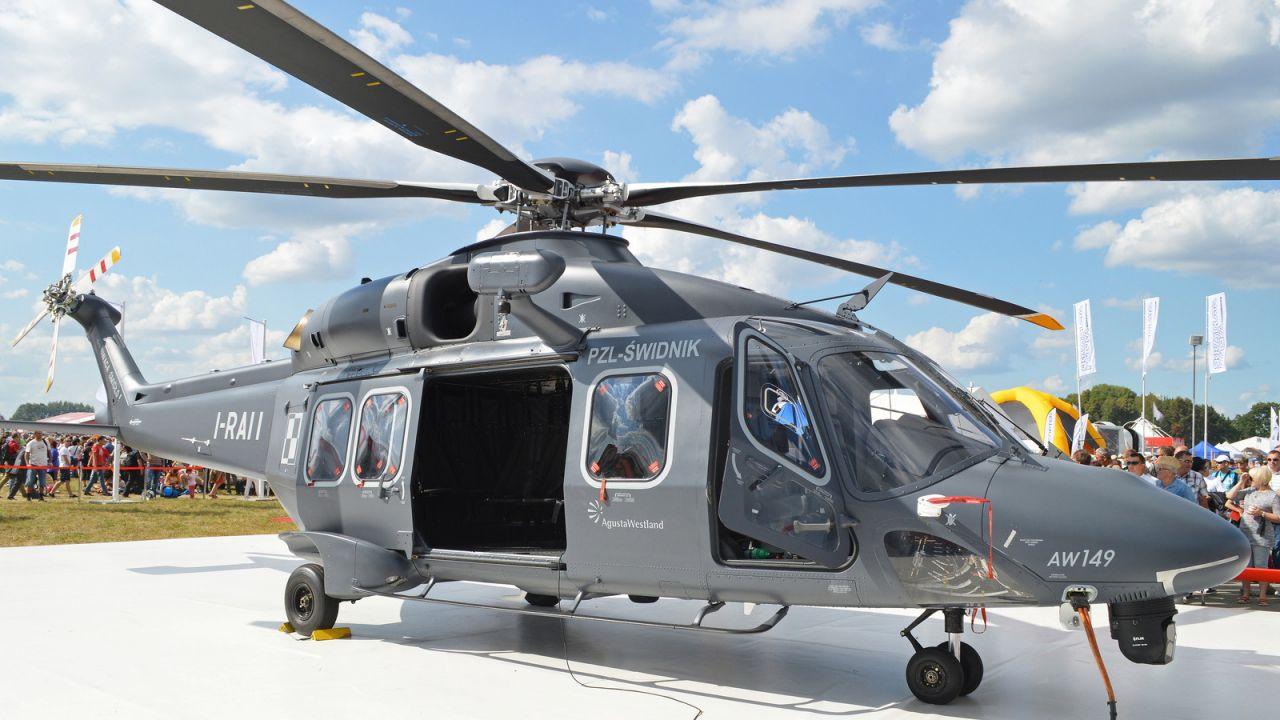 Zakłady PZL Świdnik (AgustaWestland) wystartowały w przetargu z AW149 (fot. flickr.com/Hawkeye UK)