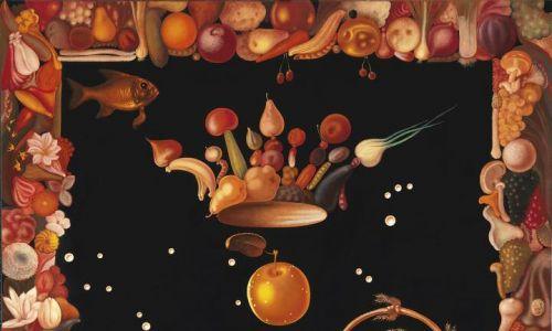 """Lukáš Kándl: """"Luksus, spokój i rozkosz"""", olej na płótnie, 2013 r. Fot. materiały prasowe – Galeria Miejska we Wrocławiu"""