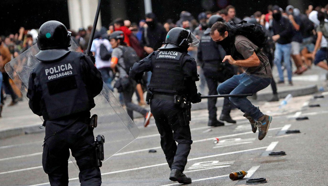 SN skazał 9 katalońskich polityków (fot. PAP/EPA/Toni Albir)