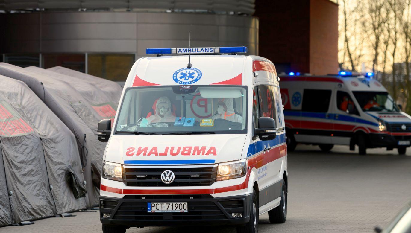Został przyjęty do szpitala w Radomiu na początku tygodnia (fot.PAP/Jakub Kaczmarczyk)