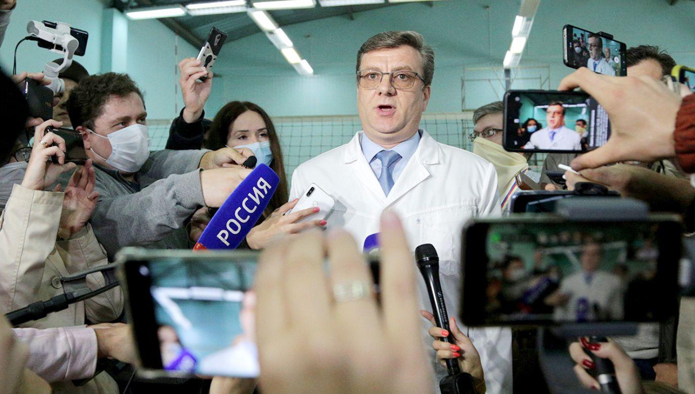 Nie wiadomo, gdzie się znajduje (fot. Yevgeny Sofiychuk\TASS via Getty Images)