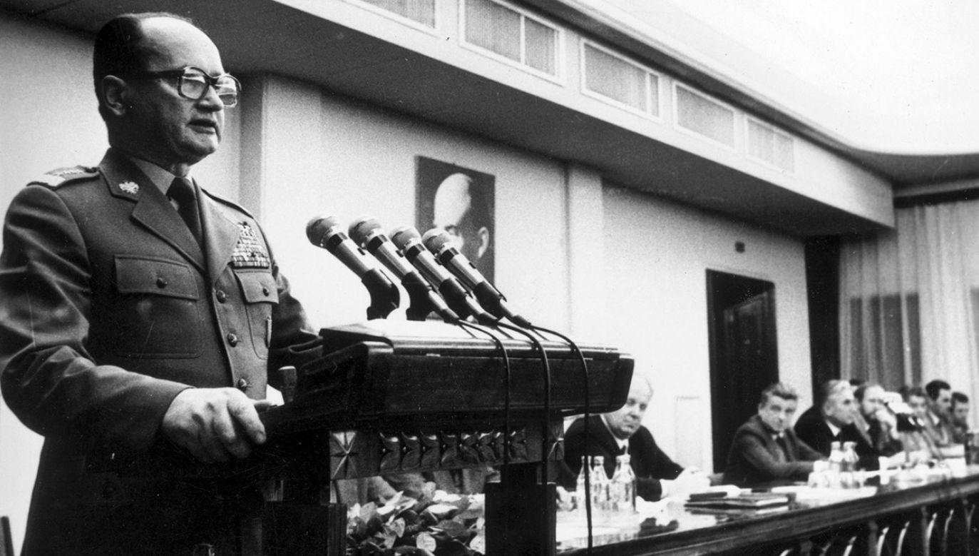 Przygotowania do wprowadzenia stanu wojennego trwały ponad rok (fot.  Keystone/Getty Images)