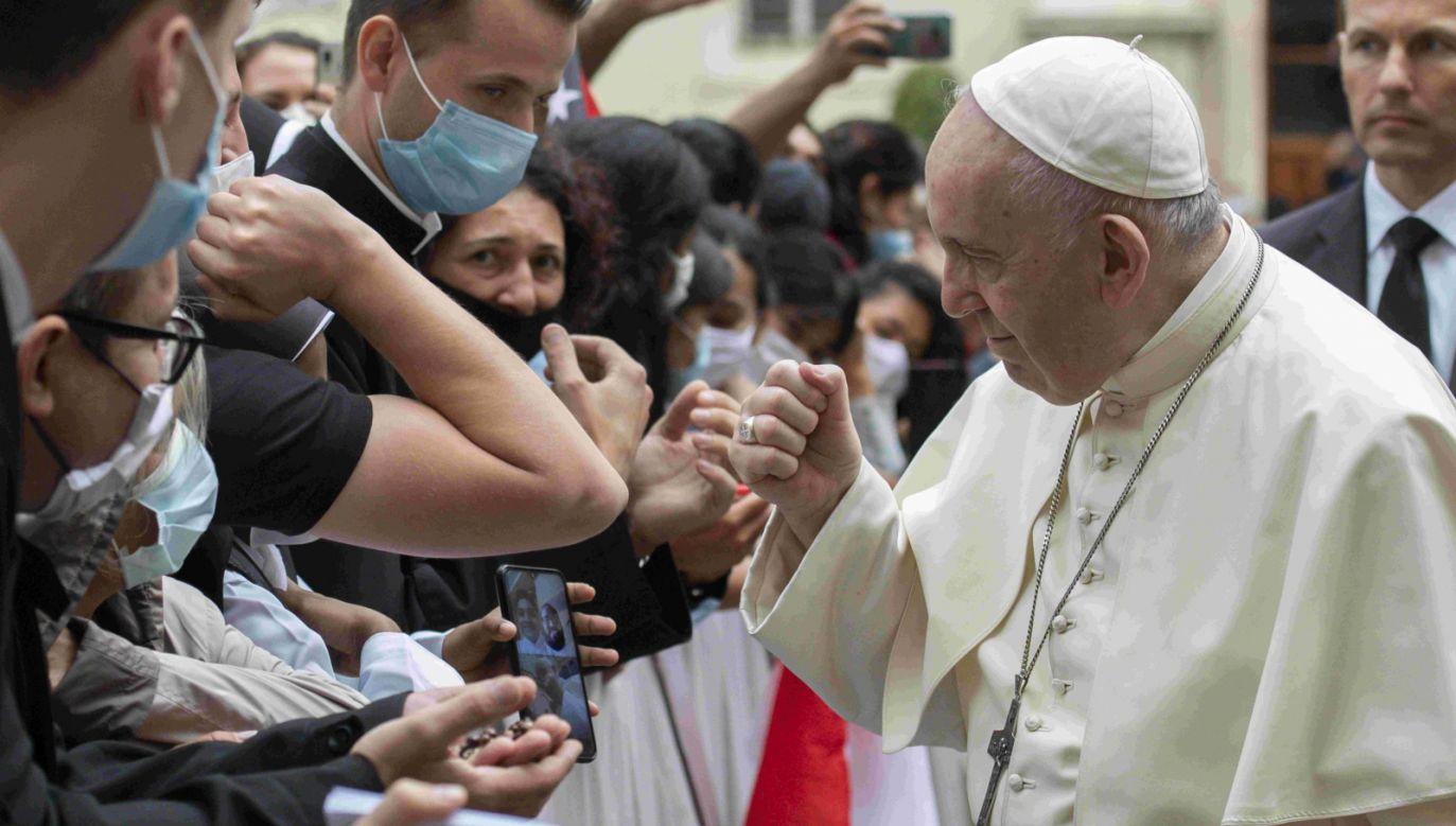 """Dom o nazwie """"Rozpoczynamy na nowo"""" prowadzą wspólnie rzymska Caritas oraz kapelani więzienni Wiecznego Miasta (fot.PAP/EPA)"""