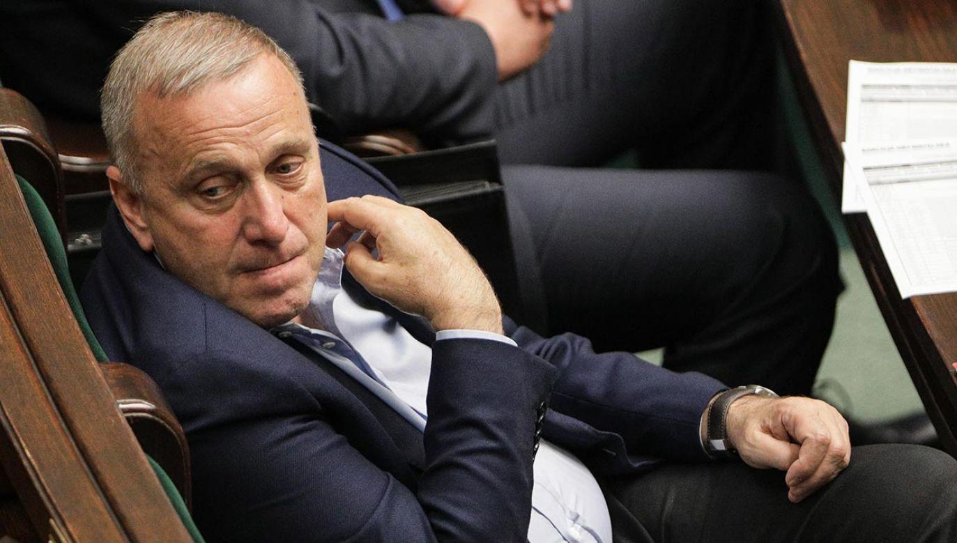 Jak mówił, ważne jest, by być liderem (fot. Forum/Andrzej Hulimka)