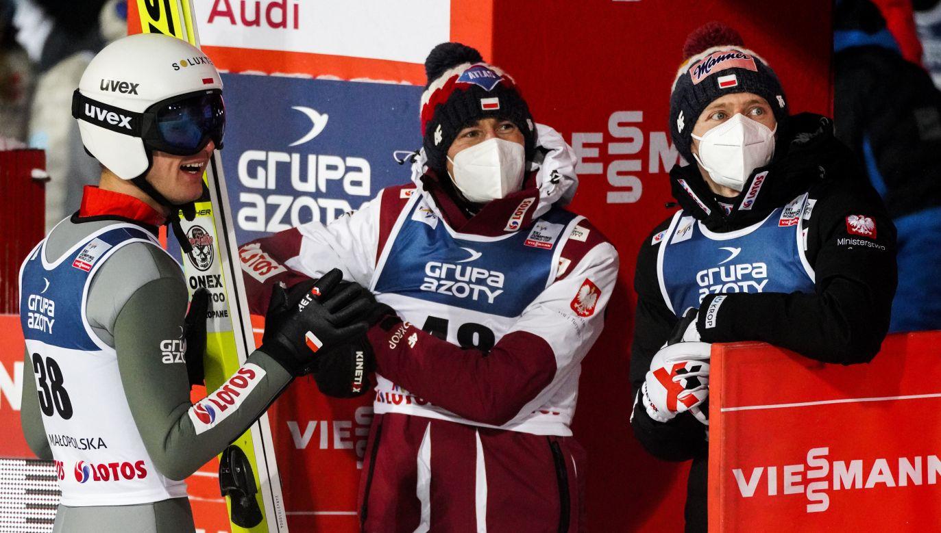 W składzie nieoczekiwanie zabraknie Kamila Stocha (fot. Filip Radwanski/SOPA Images/LightRocket via Getty Images)