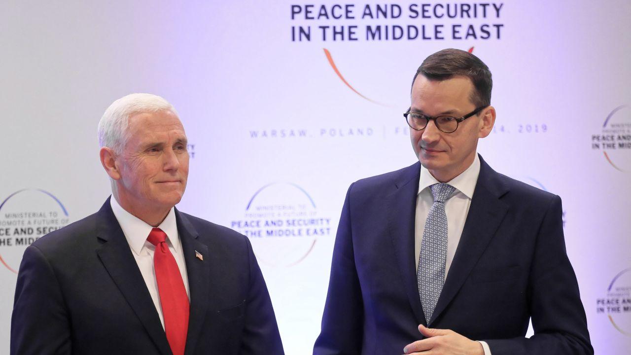 Konsekwentnie i jednoznacznie tłumaczymy, że oczekiwania, aby Polska zadośćuczyniła za niemieckie zbrodnie oparte są na fundamentalnym nieporozumieniu – zapewnia szef rządu (fot. PAP/Tomasz Supernak )