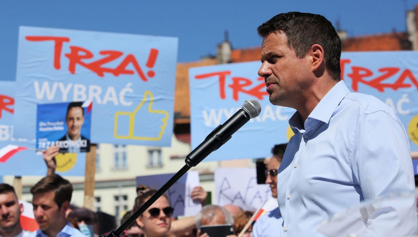 Rafał Trzaskowski (fot. PAP/Tomasz Wojtasik)