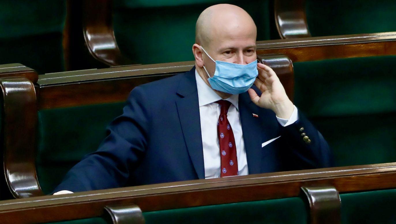 Bartłomiej Wróblewski (fot. PAP/Wojciech Olkuśnik)