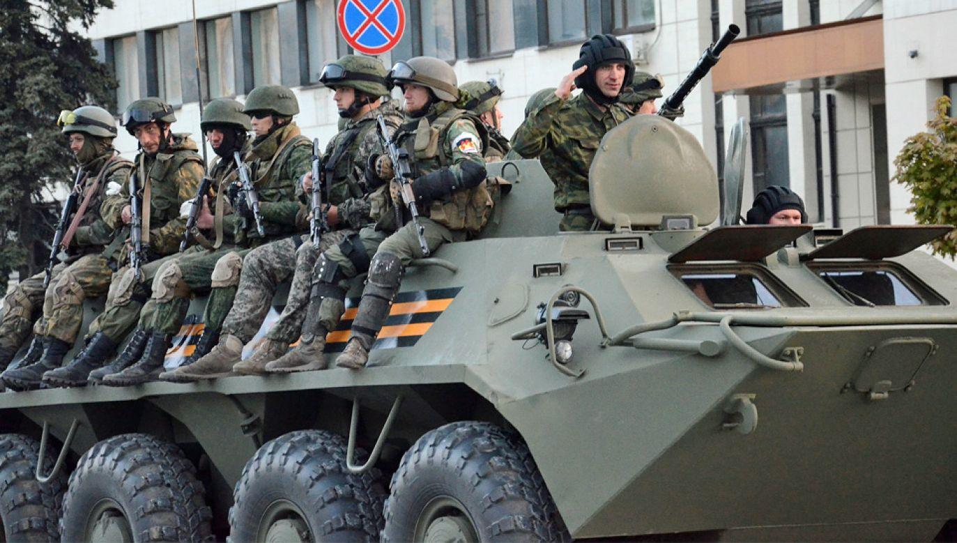 Wojna na wschodzie Ukrainy trwa już ponad 5 lat (fot. Wiki 3.0/Andrew Butko)