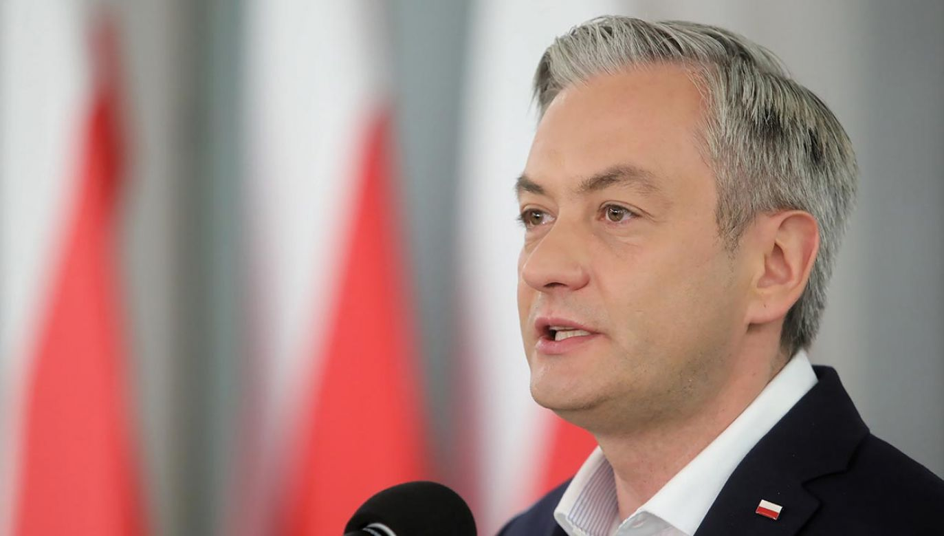 Biedroń o Trzaskowskim i elektoracie lewicy  (fot.  PAP/Wojciech Olkuśnik)