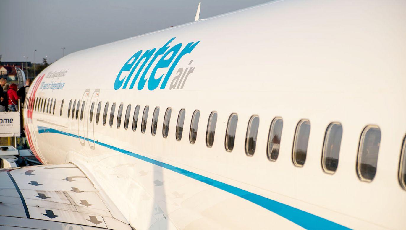 Z Pyrzowic do Antalii leciał boeing 737-800. Może on zabrać 189 pasażerów (fot. Shutterstock/Konwicki Marcin)