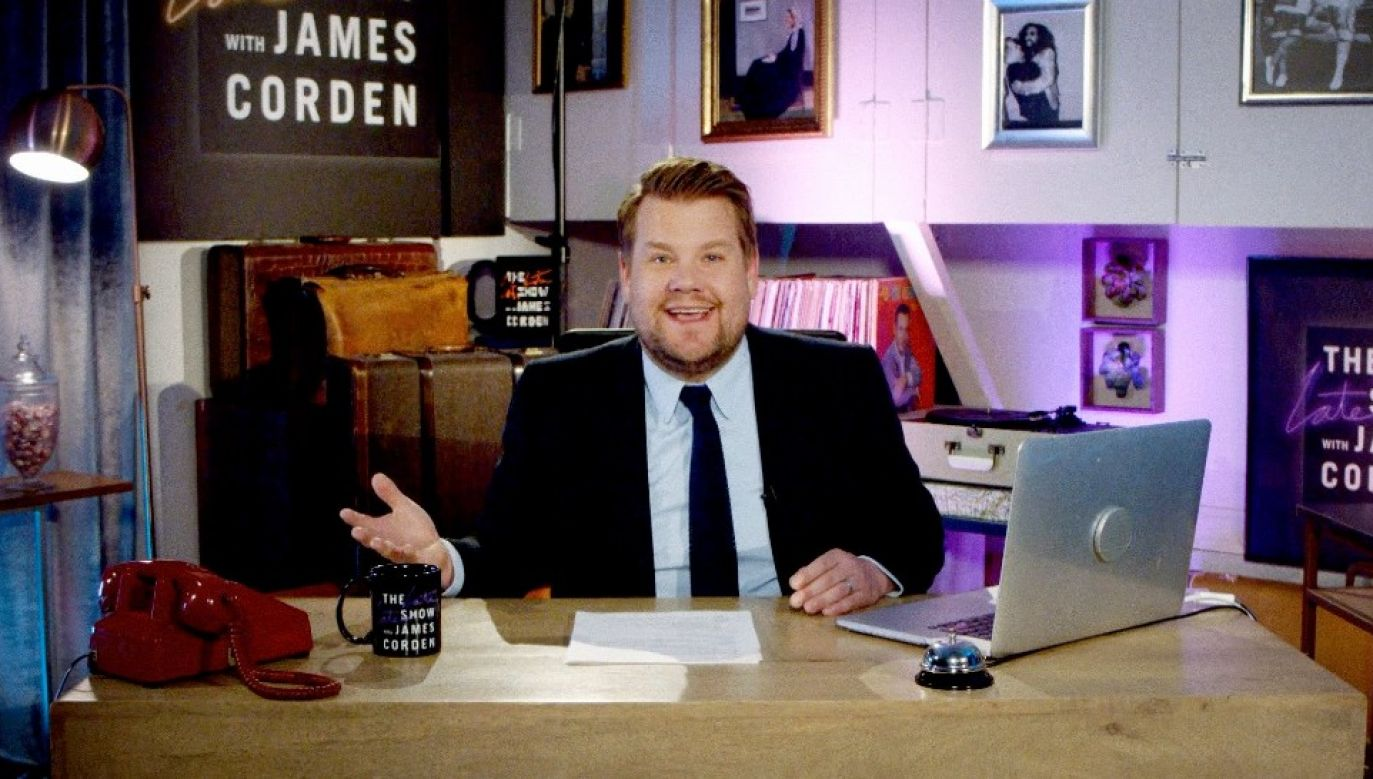 James Corden cieszy się ogromną popularnością w USA (fot. TT/Late Late Show)