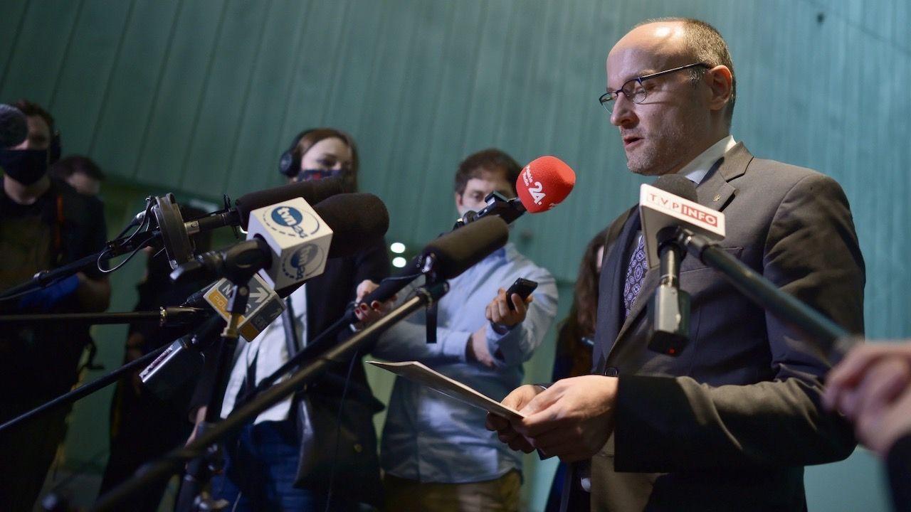 Sędzia Zaradkiewicz zapowiedział, że zwróci się do prezydenta o zmianę regulaminu SN z uwagi na wątpliwości interpretacyjne (fot. PAP/Marcin Obara)