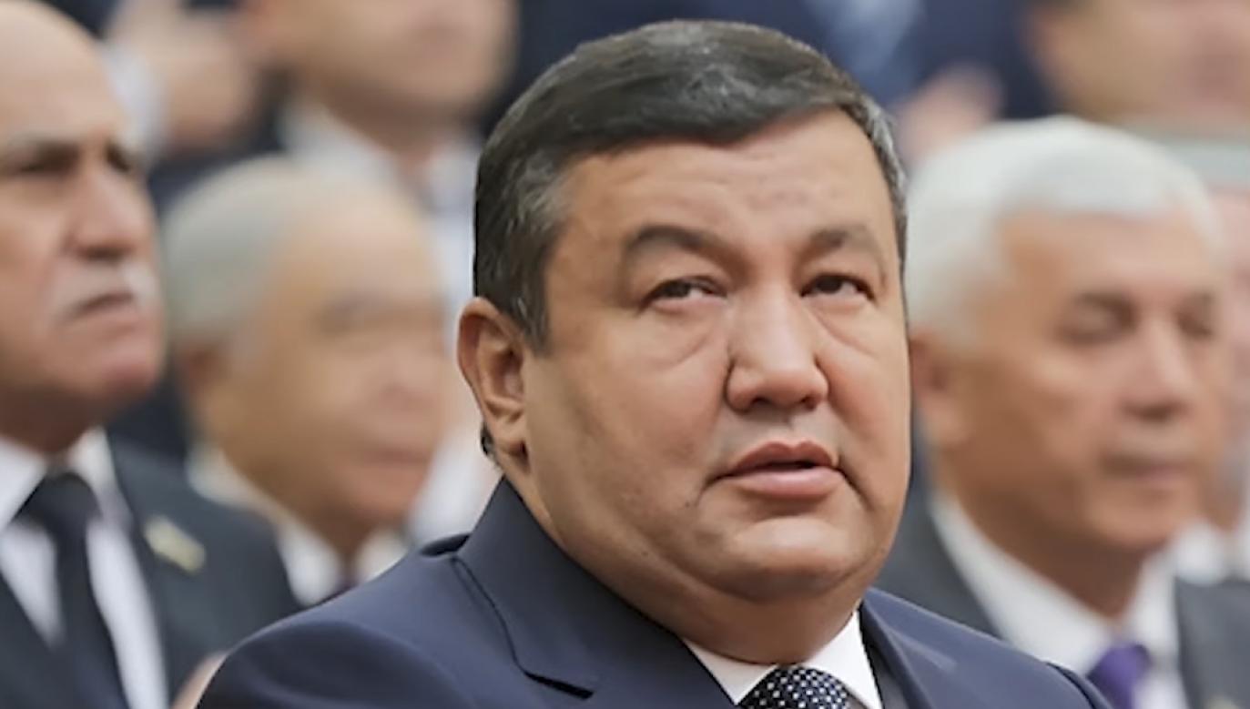 Uktam Barnojew sprawował funkcję wicepremiera od lutego 2020 rok (fot. Youtube)