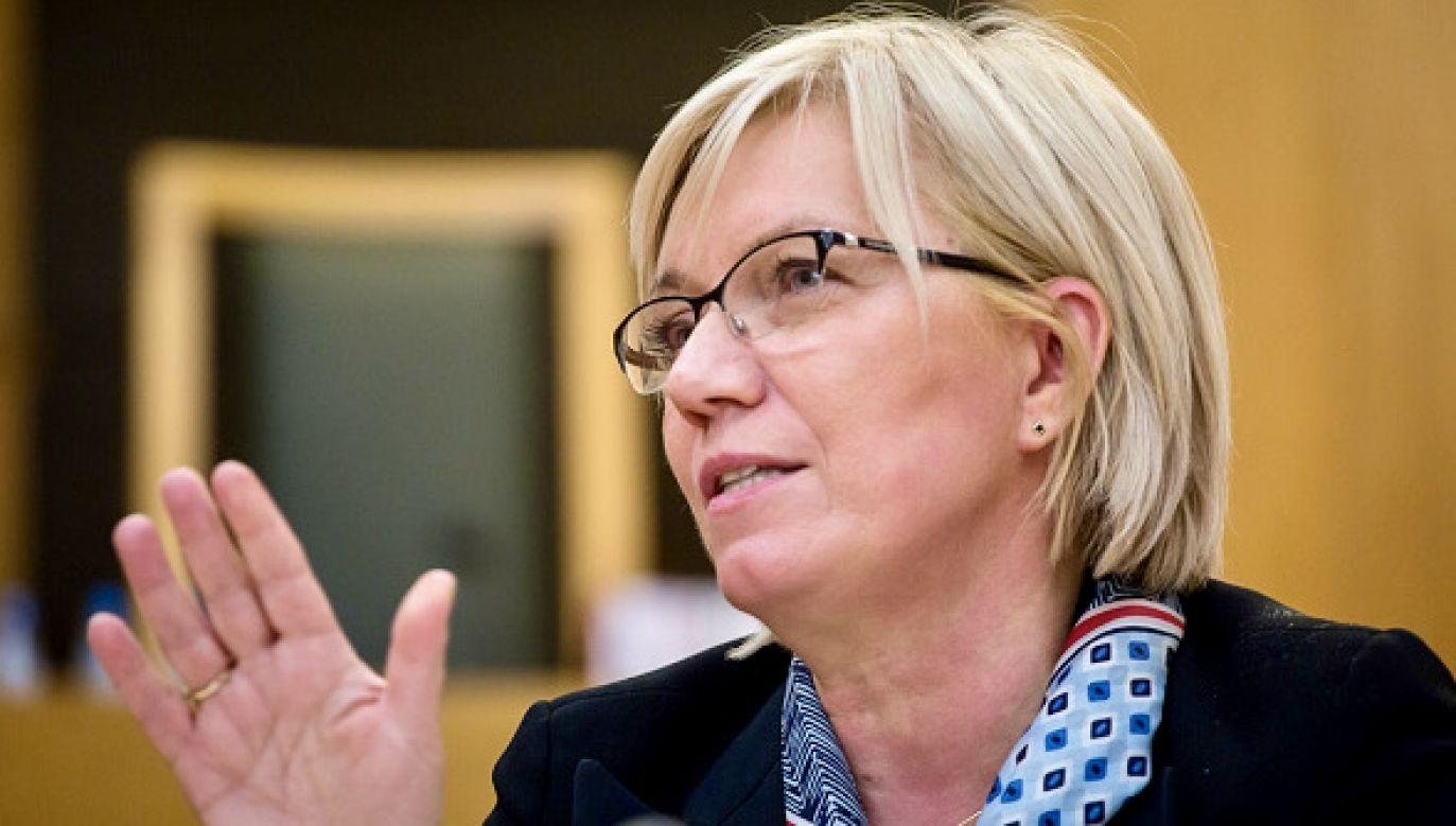Julia Przyłębska została uhonorowana nagrodą im. Grzegorza I Wielkiego (fot. Getty Images)