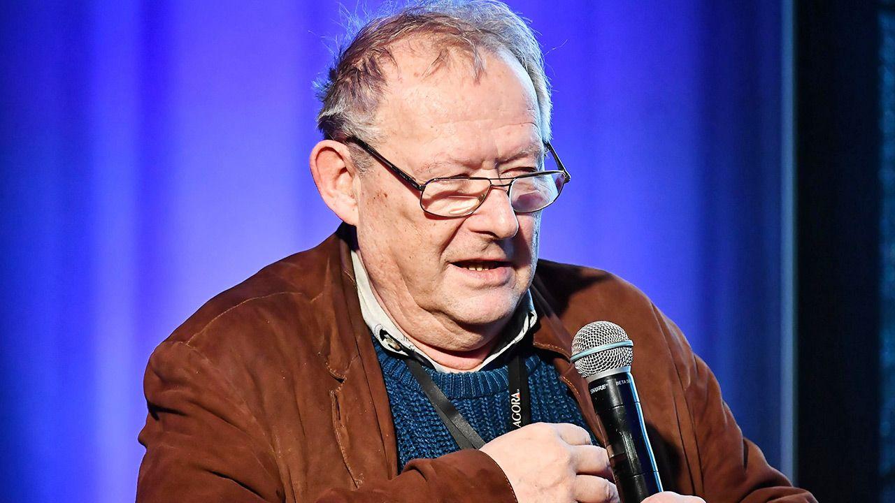 """Adam Michnik, redaktor naczelny """"Gazety Wyborczej"""" (fot. PAP/Andrzej Lange)"""