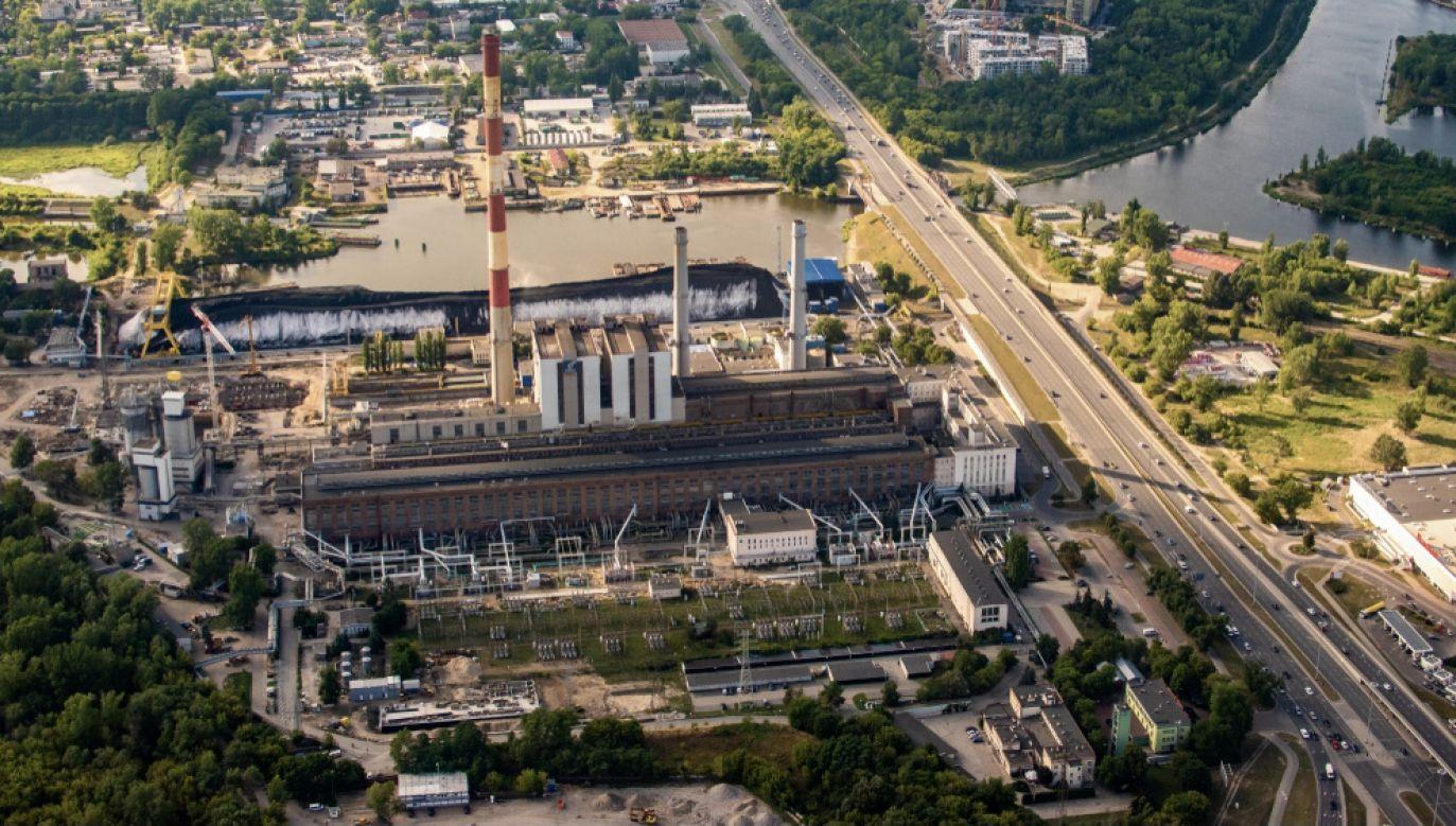 W stołecznej elektrociepłowni Żerań doszło do awarii (fot. Shutterstock/lukep)
