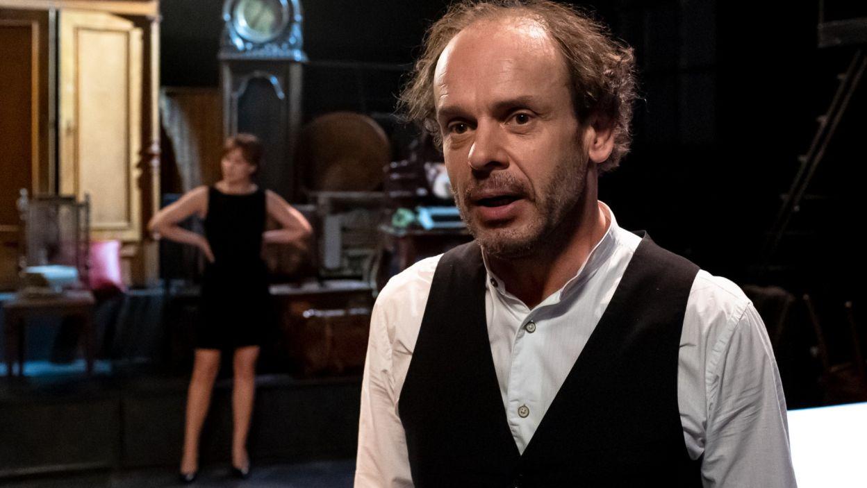 W rolę głównego bohatera, Kohoutka, wcielił się Tomasz Schimscheiner (fot. Sylwia Penc)