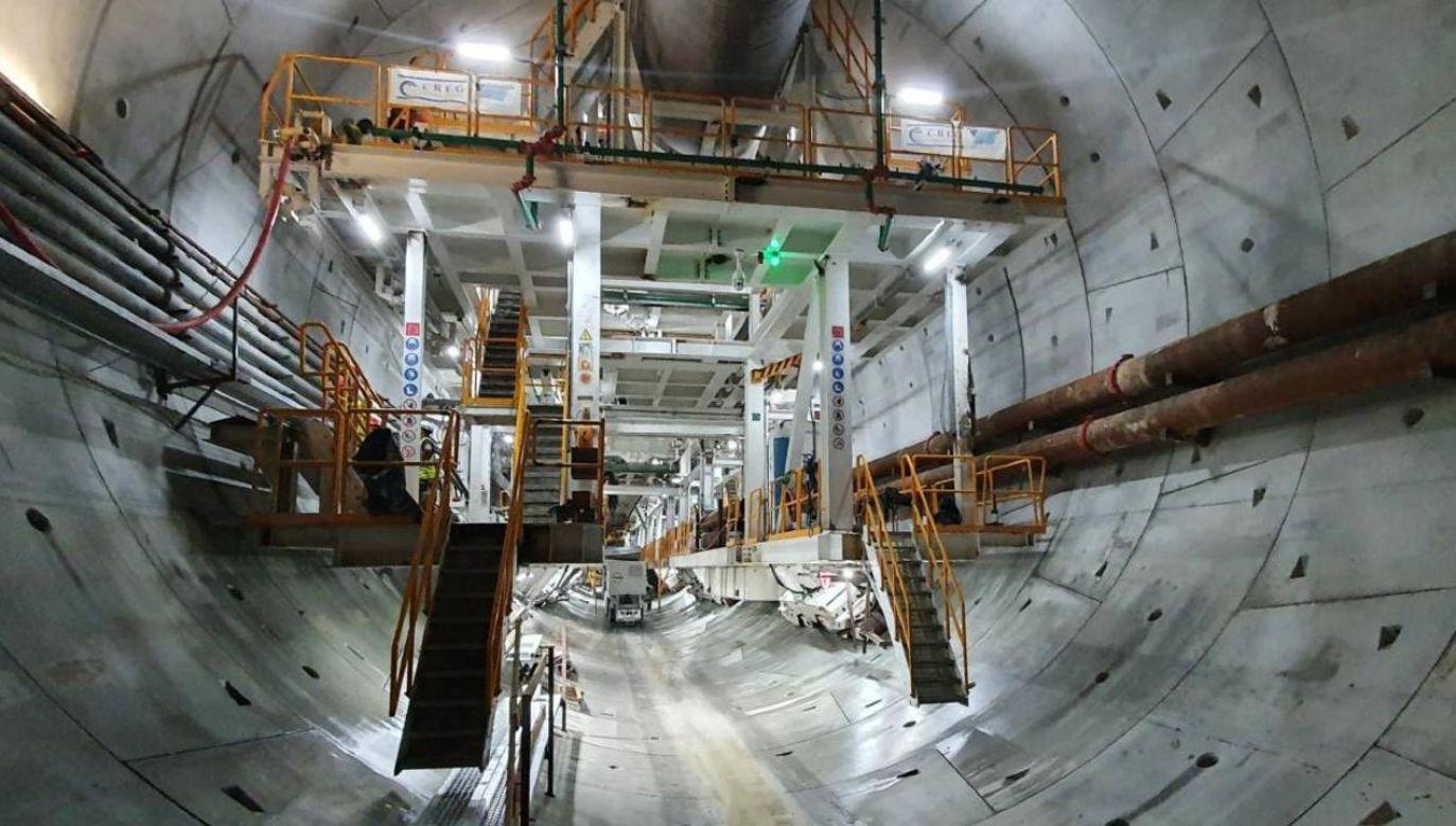 Koszt budowy tunelu to ponad 912 mln zł (fot. GDDKiA)