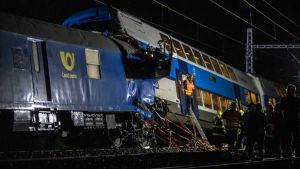 Zginął maszynista pociągu osobowego (fot. PAP/EPA/MARTIN DIVISEK)