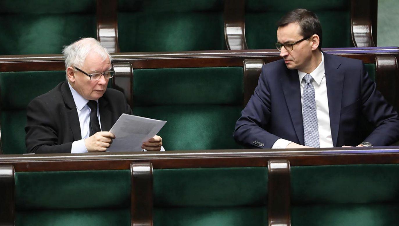 Politycy zapowiadajązmiany w rządzie (fot. PAP/Wojciech Olkuśnik)