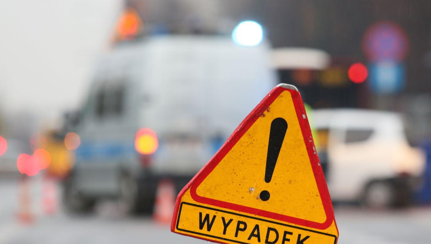 Jezdnia w kierunku Warszawy została odblokowana (fot. arch. PAP/Leszek Szymański)