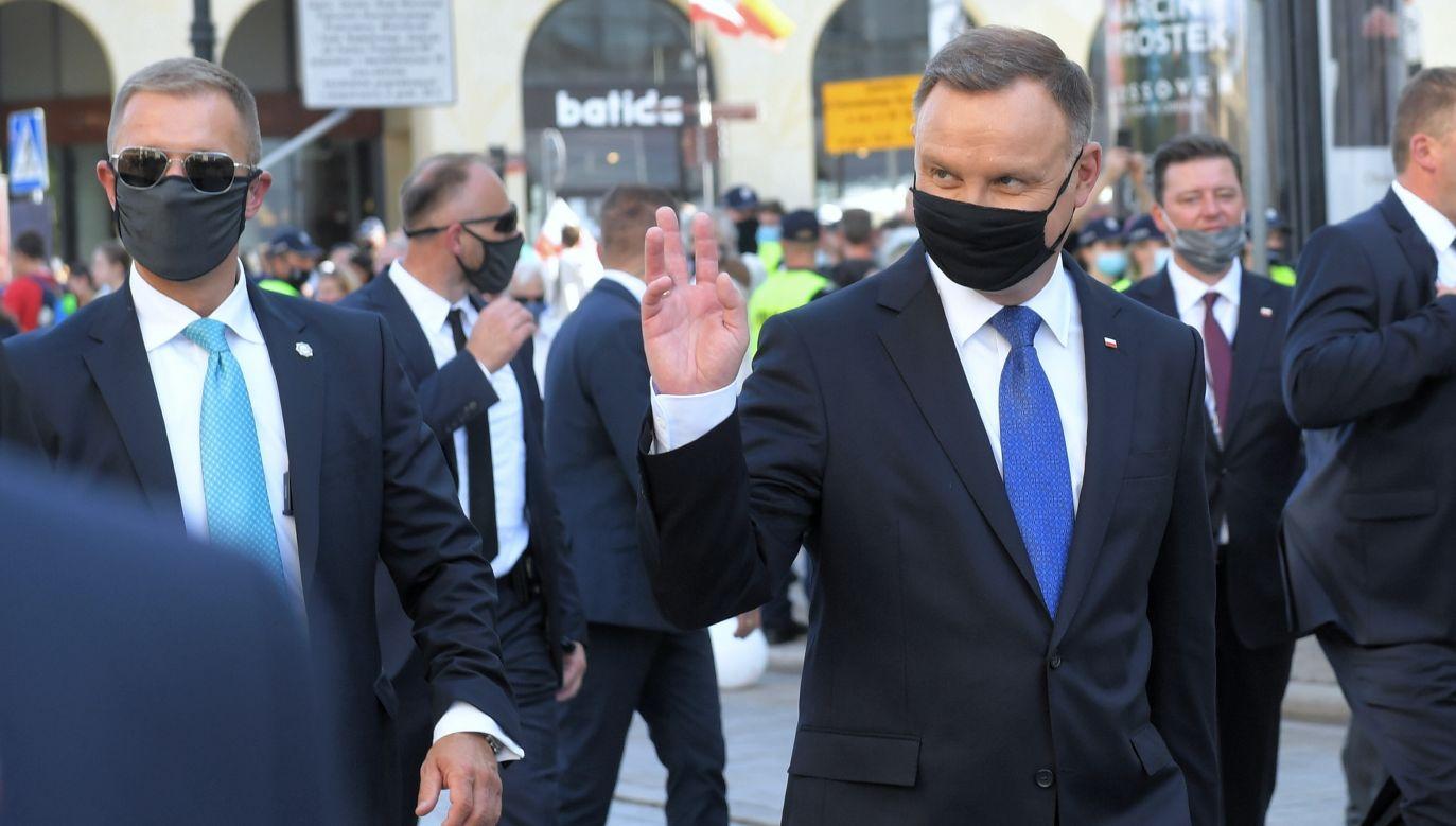 Inauguracja II kadencji Prezydenta RP (fot. PAP/Radek Pietruszka)