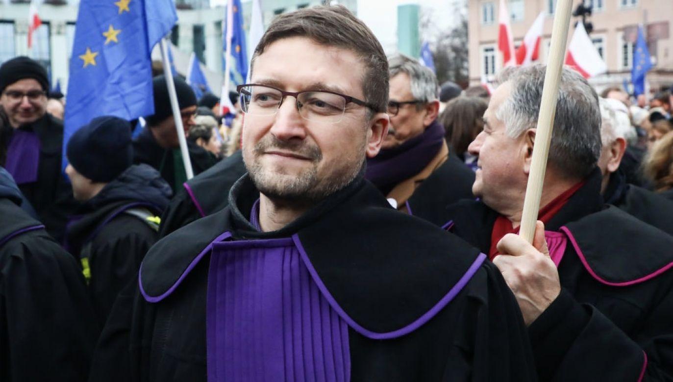 Paweł Juszczyszyn (fot. Beata Zawrzel/NurPhoto via Getty Images)