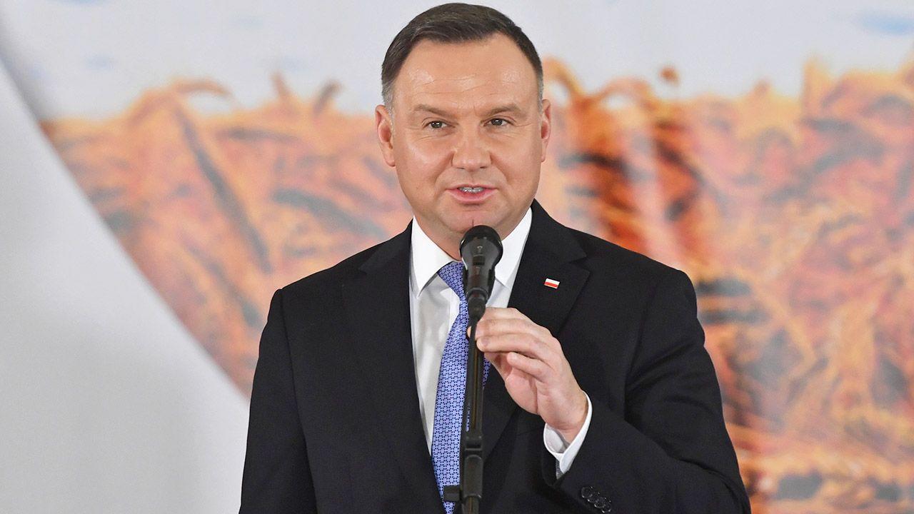 Reforma sądownictwa jest dla naszego państwa i społeczeństwa niezbędna – ocenił prezydent Andrzej Duda (fot. PAP/Marcin Bielecki)