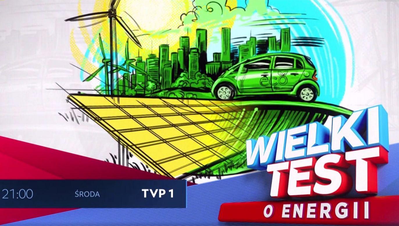 """27 października o godz. 21 TVP1 zaprasza na """"Wielki Test o Energii"""" (fot. TVP)"""