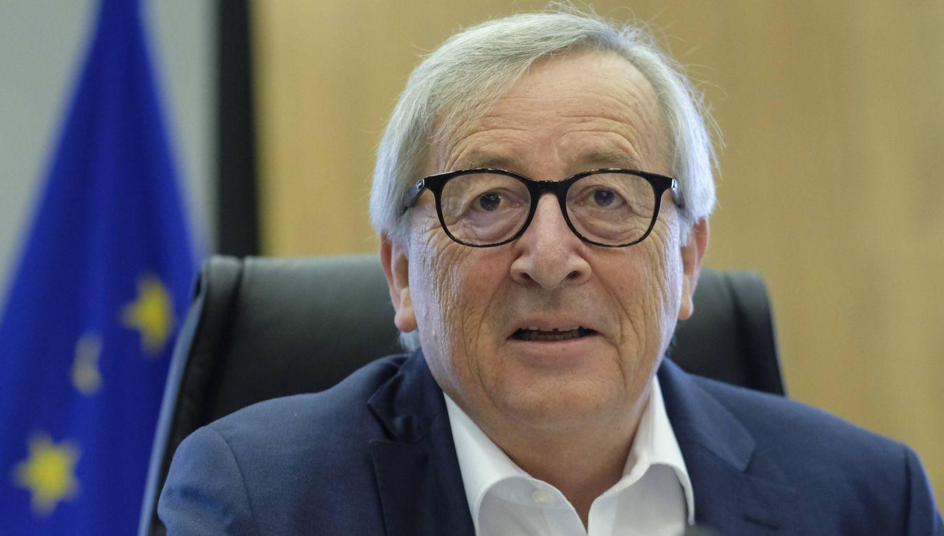 Jean-Claude Juncker  (fot.arch. PAP/EPA/OLIVIER HOSLET)