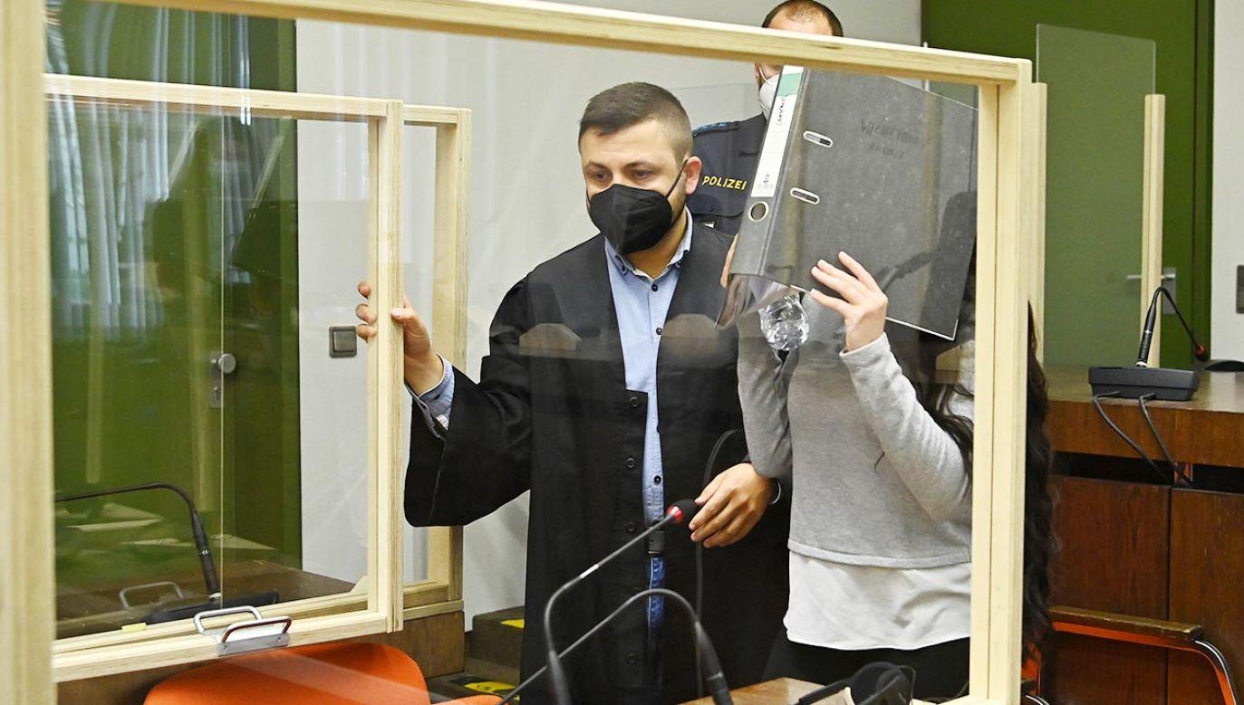 Sąd w Monachium uznał 30-letnią Jennifer Wenisch za winną wspierania IS w Iraku (fot. Sebastian Widmann/Getty Images)