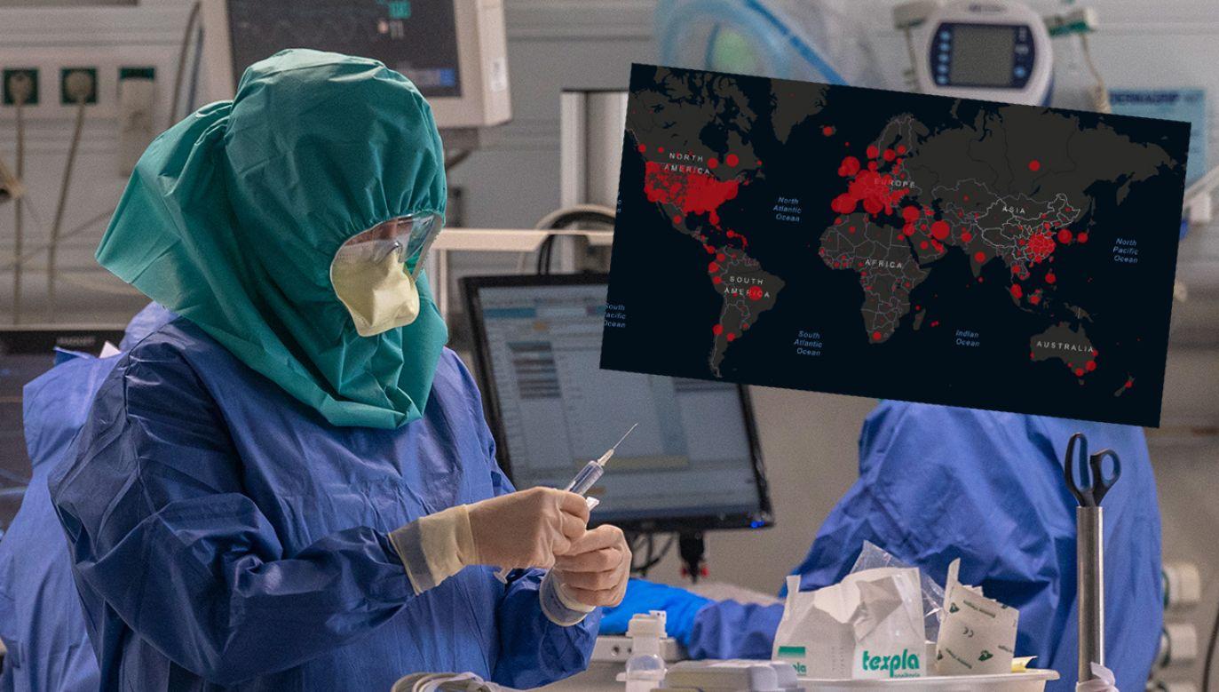 Globalny wskaźnik śmiertelności koronawirusa wynosi obecnie ponad 5 proc. (fot. Horacio Villalobos#Corbis/Corbis via Getty Images)