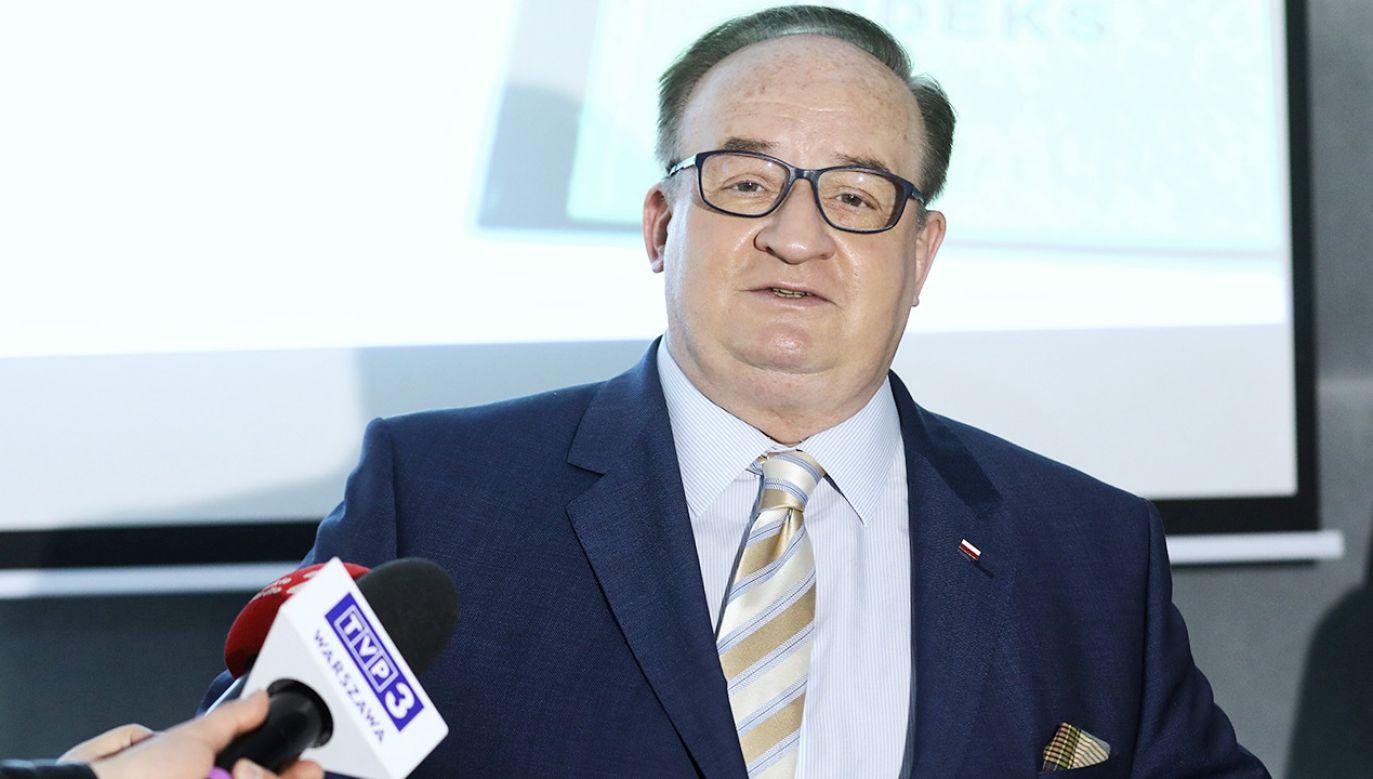 Eurodeputowany PiS Jacek Saryusz-Wolski (fot. PAP/Rafał Guz)